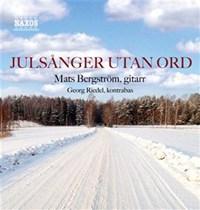 "Record cover ""Julsånger utan ord"""