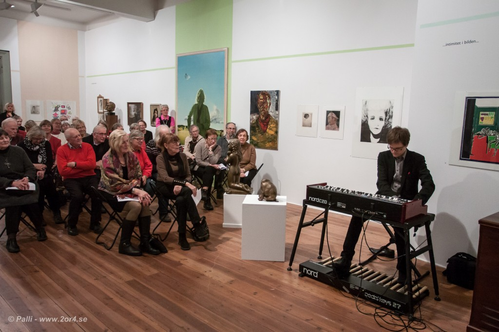 Andreas Hellkvist spelar på Uplands konstföreing
