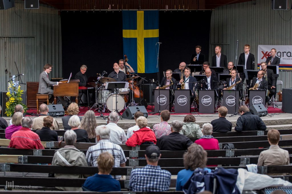 Trinity möter Uppsala storband @ Parksnäckan, Uppsala