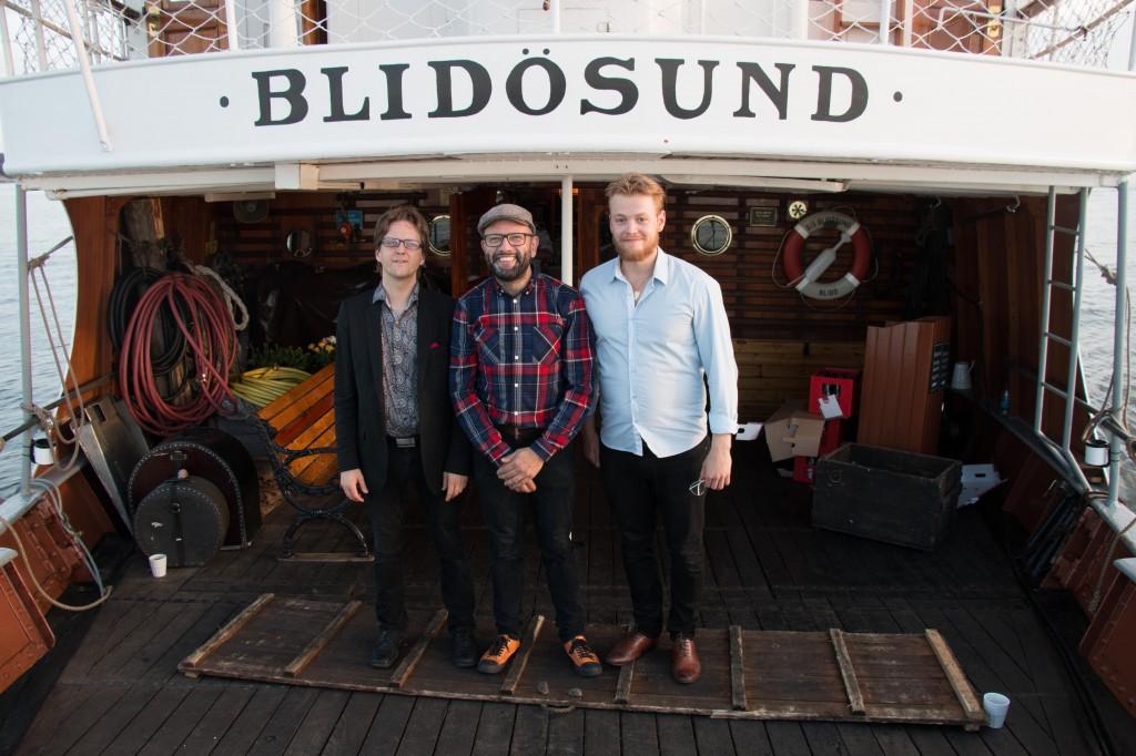 w. Joel Svensson and Ali Djeridi in Blidö on July 19th