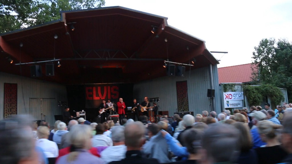 Kent Wennman Elvis tribute @ Parksäckan, Uppsala