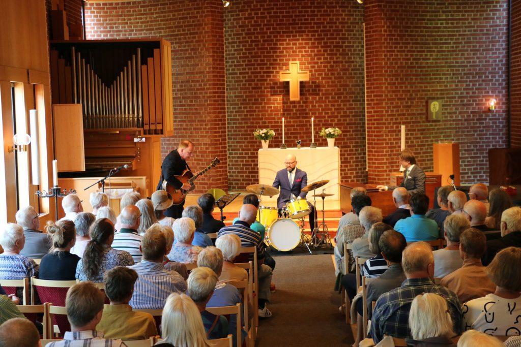 Gröndals kyrka 30 juni 2018