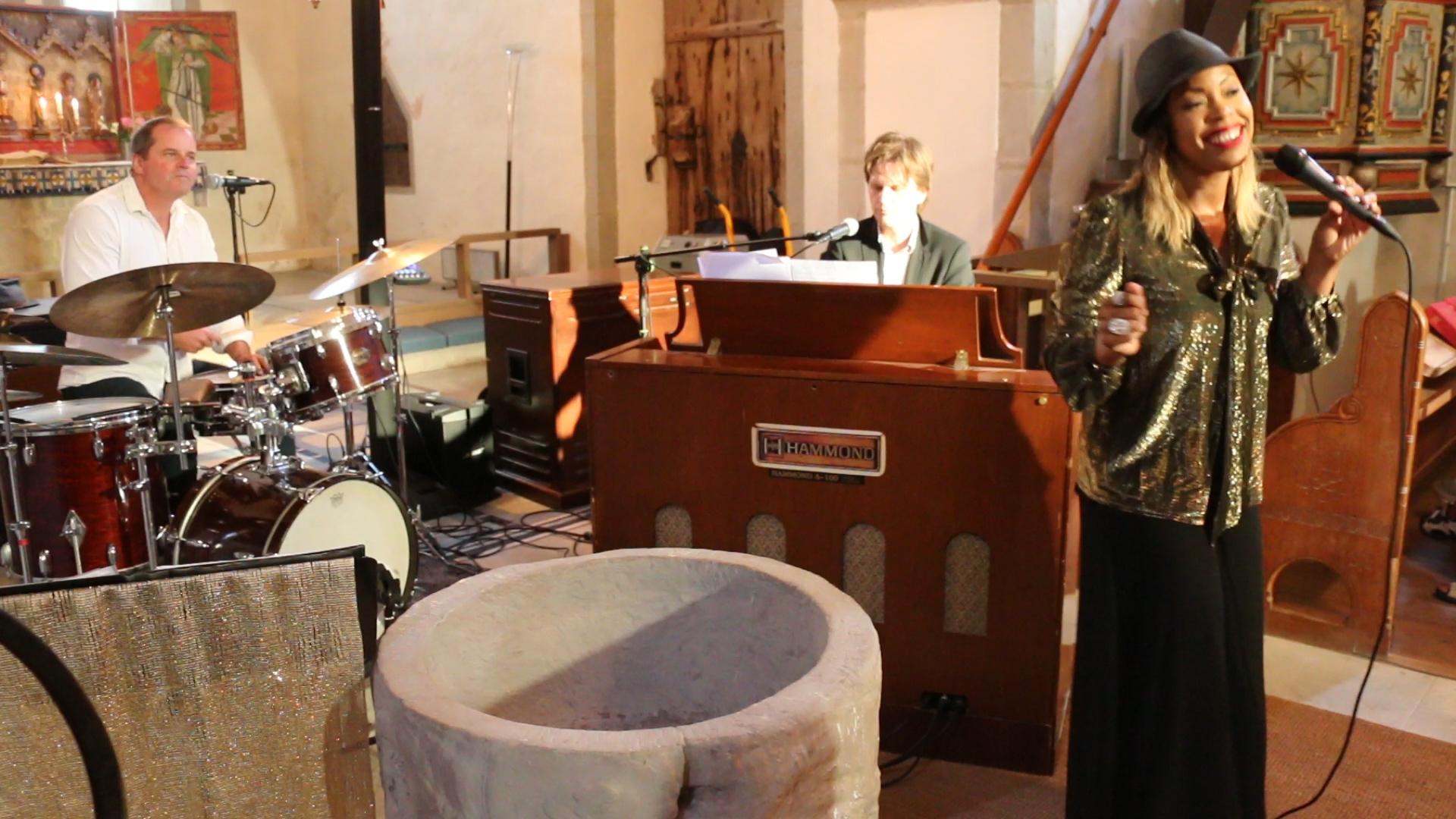 Kiralina Trio in Slite kyrka July 10th 2018