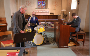 With Ali Djeridi & Krister Andersson @ Valbo kyrka