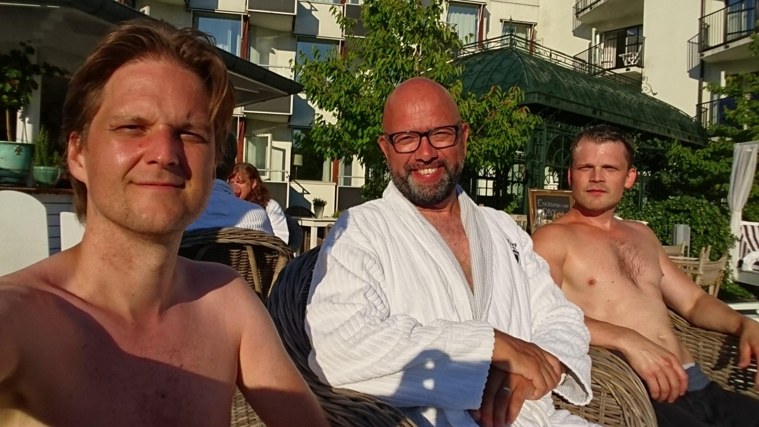 Trinity relaxing Ystad