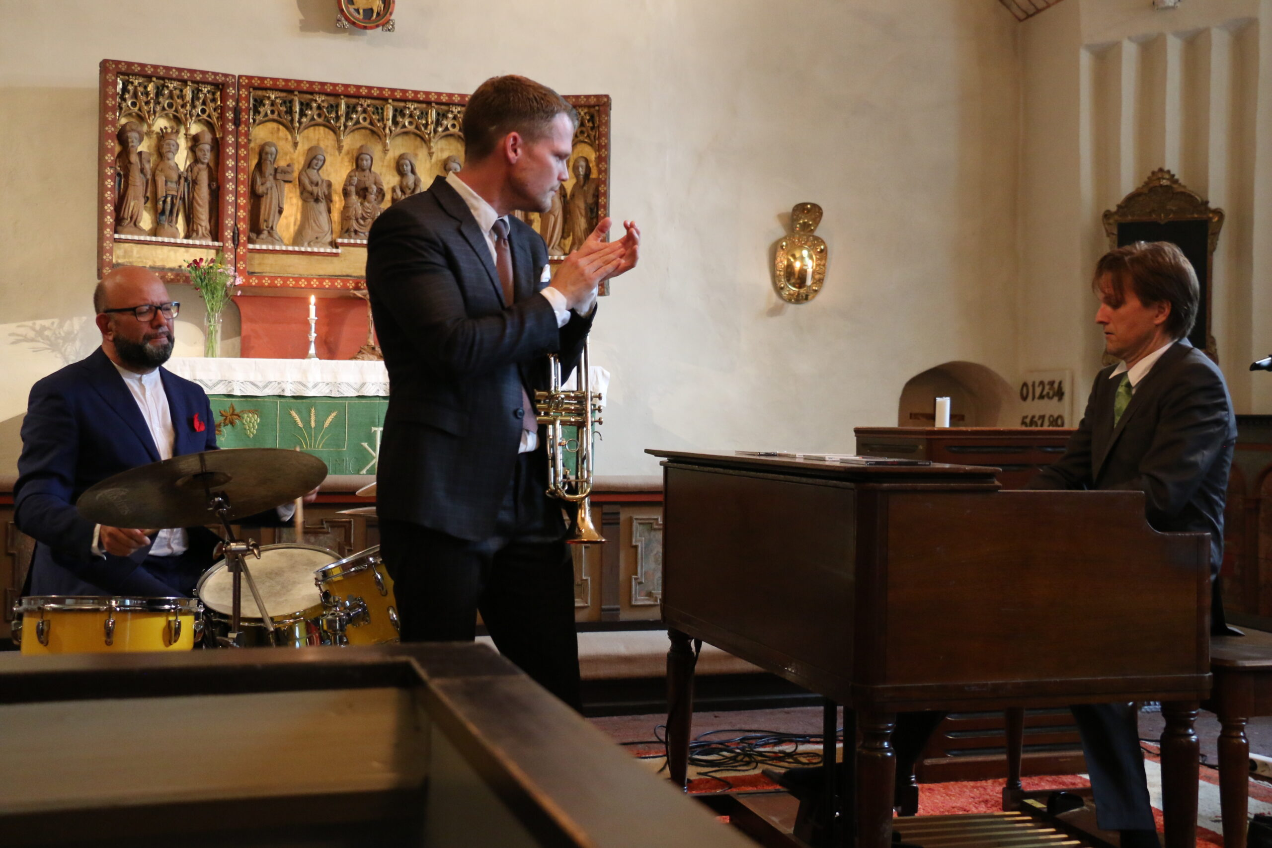 Trinity Bergs kyrka 19 aug 2018