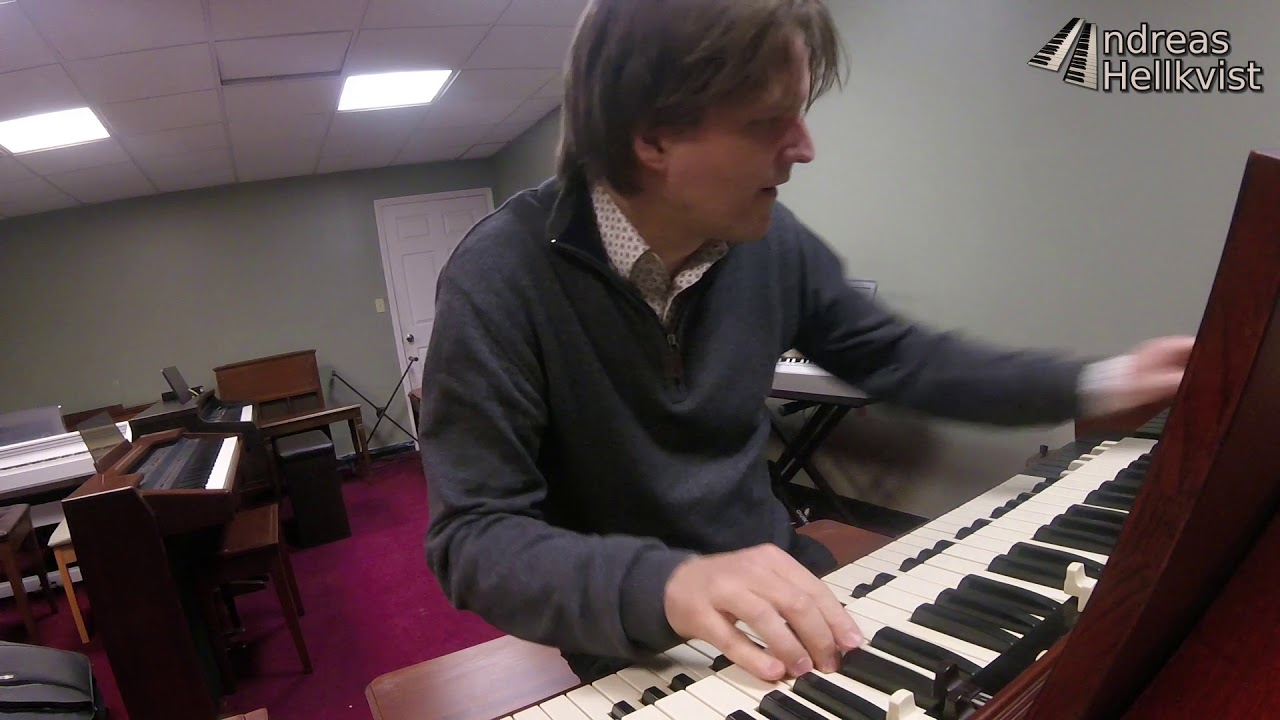 Groovin' on a Hammond B3 -65, Hermitage, PA