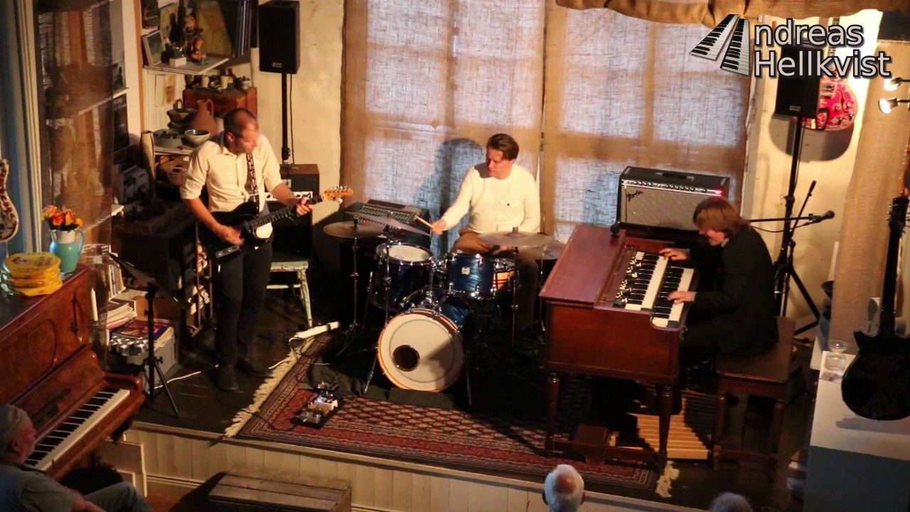 Andreas Hellkvist Trio at Atelje Y (compilation)