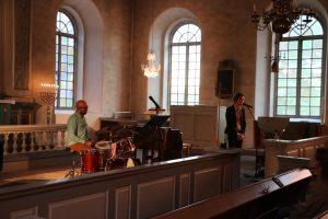 Ferlin i ord & musik i jazzton @ Väddö kyrka, Väddö