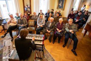 Solo organ @ Swedish embassy residence, Reykjavik