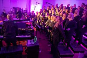 Lindakirkja gospel choir @ Lindakirkja, Reykjavik
