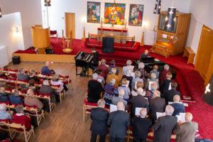 Church service @ Óháði söfnuðurinn, Reykjavik