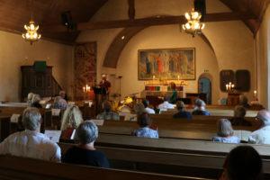 Ferlin i ord & musik i jazzton @ Hallstaviks kyrka, Hallstavik