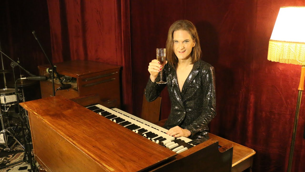 New Year's party stream at the Hammond B3, January 2nd
